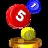Trofeo de Píldoras SSB4 (3DS)