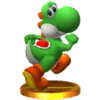 Trofeo de Yoshi SSB4 (3DS)