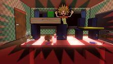 Aldeano, Donkey Kong y Toon Link en GAMER SSB4 (Wii U)