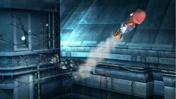 Ataque aereo trasero-Snake SSBB
