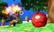 Captain Falcon en Isla Tórtimer SSB4 (3DS)