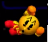 Pac-Man Ataque Aereo Trasero SSB 3DS