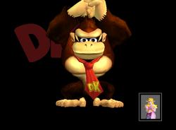 Pose de victoria Donkey Kong Y (3) SSBM