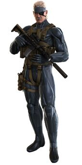 Solid Snake MGS4