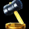Trofeo de Martillo SSB4 (Wii U)