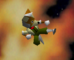 Ataque aéreo normal de Fox SSB