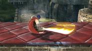 Ataque de recuperación boca abajo de Ike (1) SSB4 (Wii U)