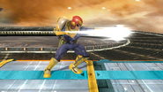 Ataque normal de Captain Falcon (1) SSB4 (Wii U)