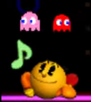 Pac-Man Burla Inferior SSB 3DS