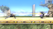 Tormenta de cuchillas SSB4 (Wii U)