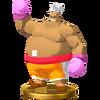 Trofeo de King Hippo SSB4 (Wii U)