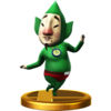 Trofeo de Tingle SSB4 (Wii U)