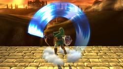 Ataque Smash superior de Link (3) SSB4 (Wii U)