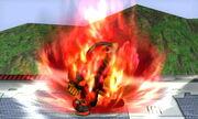 Burla superior Fox SSB4 (3DS)