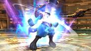 Lucario en la Central Geotérmica SSB4 (Wii U)