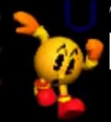 Pac-Man Ataque Aereo Inferior SSB 3DS