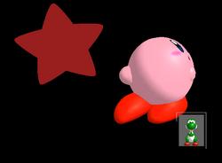 Pose de victoria Kirby Y (1) SSBM
