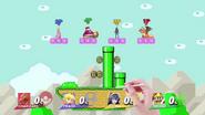 Super Mario Maker (Super Mario World) SSB4 (Wii U)