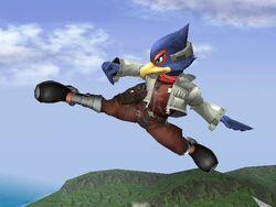 Ataque Aéreo Trasero Falco SSBB