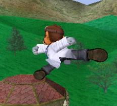 Ataque fuerte lateral de Dr. Mario SSBM