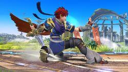 Burla hacia abajo Roy SSB4 (Wii U)