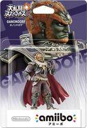 Embalaje del amiibo de Ganondorf (Japón)
