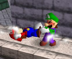 Lanzamiento trasero de Luigi (1) SSB