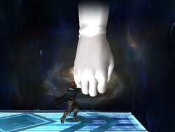 Master Hand Puño Explosivo (2) SSBB