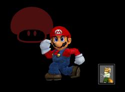 Pose de victoria Mario (2) SSBM