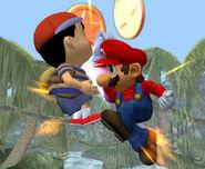Súper Salto Puñetazo Mario SSBM