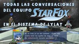 Smash Bros Wii U All Star Fox Conversations in Lylat Cruise En Español