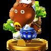Trofeo de Juana SSB4 (Wii U)