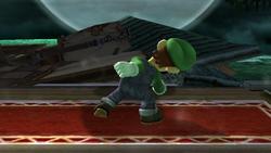 Ataque Smash hacia arriba Luigi SSBB (2)