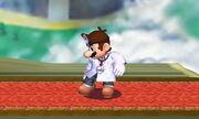 Burla superior Dr. Mario SSB4 (3DS)