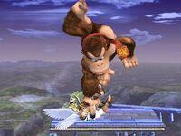 Lanzamiento inferior Donkey Kong SSBB