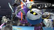 Meta Knight, Zelda y Link en el Ring de Boxeo SSB4 (Wii U)