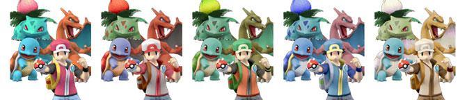 Paleta de Colores Entrenador Pokémon SSBB