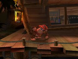 Pose de espera Diddy Kong SSBB (3)