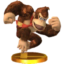 Trofeo de Donkey Kong SSB4 (3DS)