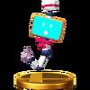 Trofeo de Monita SSB4 (Wii U)