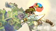 Brazal radial aéreo SSB4 (Wii U)