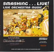 Caratula Smashing Live (Nintendo Power)