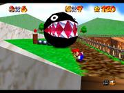 Chomp Cadenas en Super Mario 64