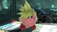 Cloud-Kirby 1 SSB4 (Wii U)