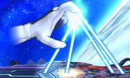 Crazy Hand Dedos Láser SSB4 (3DS)