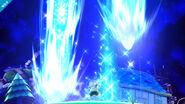 Ness usando Tormenta estelar PSI SSB4 (Wii U)