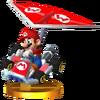 Trofeo de Mario (kart estándar) SSB4 (3DS)