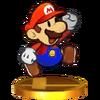 Trofeo de Paper Mario SSB4 (3DS)