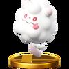 Trofeo de Swirlix SSB4 (Wii U)
