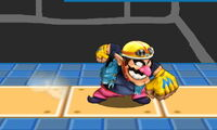 Ataque normal de Wario (1) SSB4 (3DS)